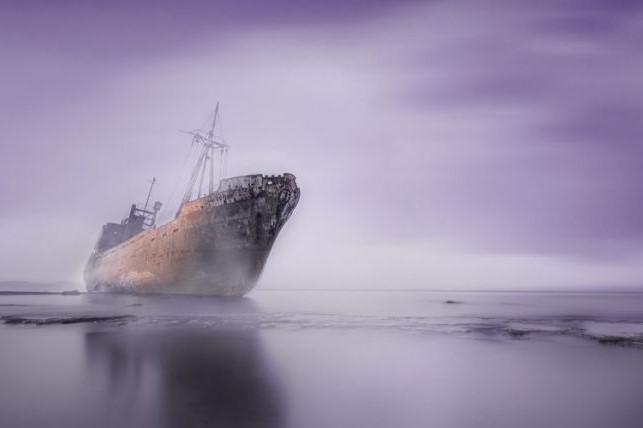 корабль привидение