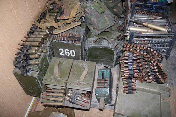склады боеприпасов ВСУ