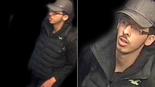 Милиция Манчестера обнародовала фотокарточку подозреваемого висполнении теракта 22мая