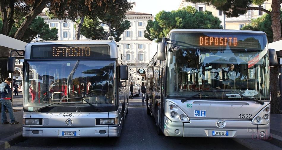 ВИталии остановился транспорт из-за забастовки транспортников