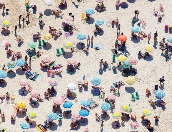 люди пляж