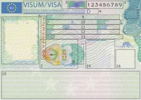новая виза