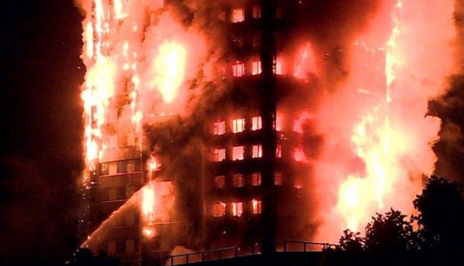 пожар в лондоне_