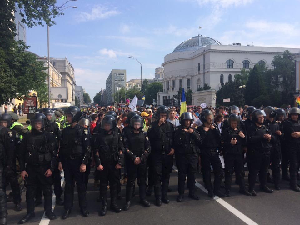 Оргкомитет «КиевПрайд»: ВКиеве избили уполномоченных  ЛГБТ после Марша равенства