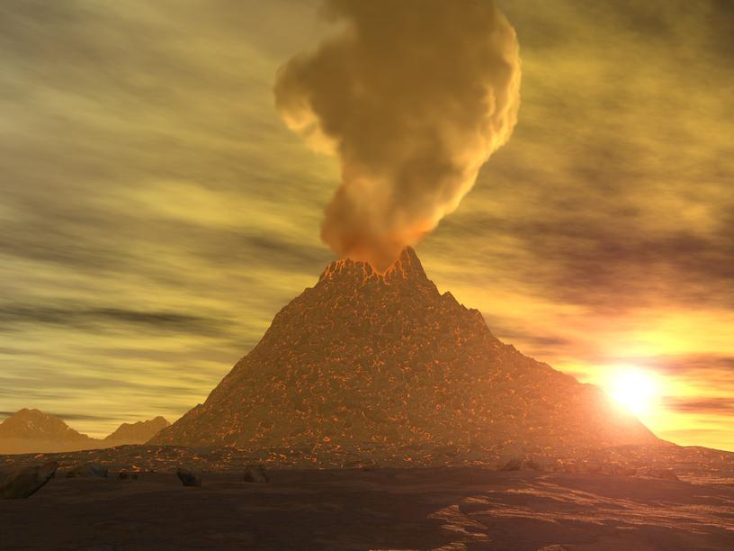 вулкан в Перу