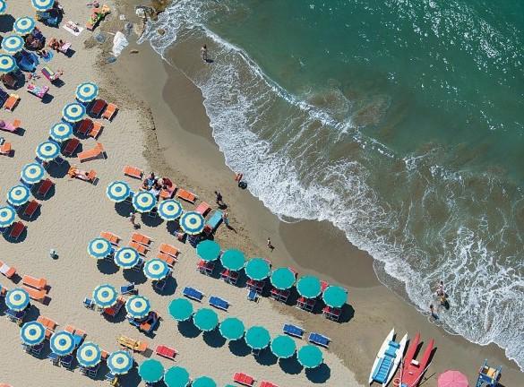 зонтики пляж