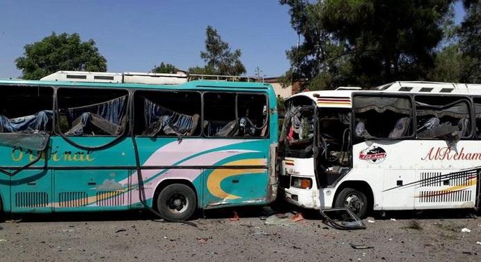 ВДамаске произошел взрыв, погибли поменьшей мере 8 человек