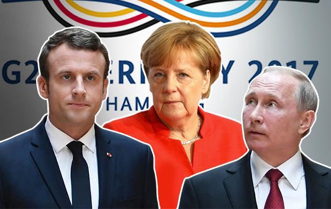 Макрона иМеркель возмутили сообщения осоздании Малороссии