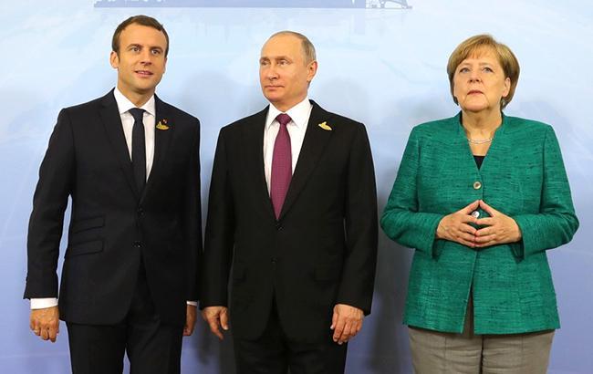 Pr-служба Порошенко отчиталась опереговорах в«нормандском формате»