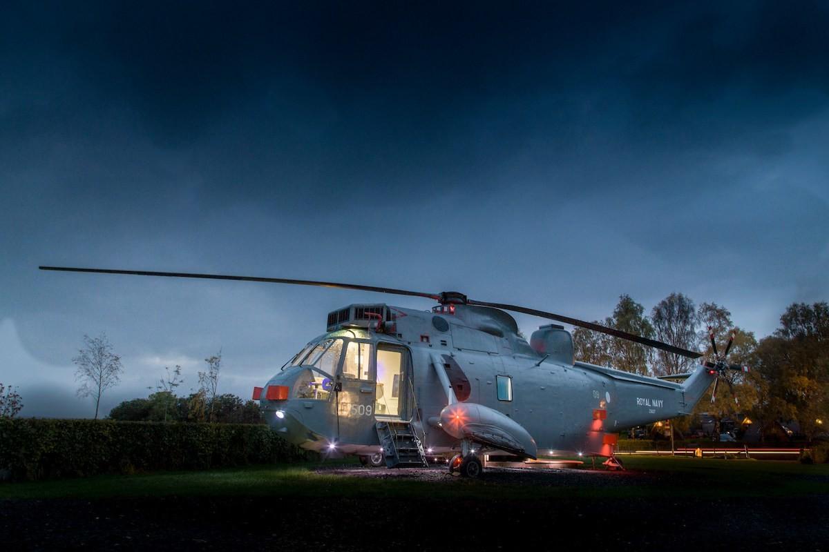 отель в вертолете