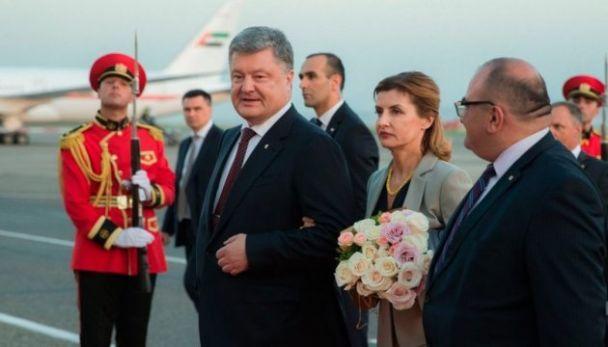 порошенко в грузии.