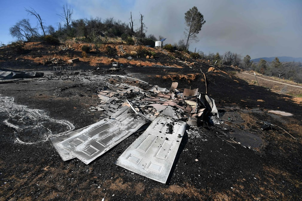 сгоревшая земля