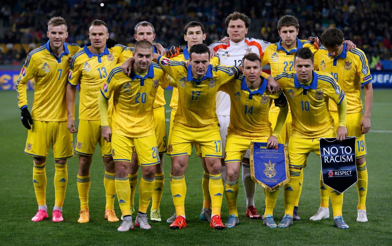 cборная  украины