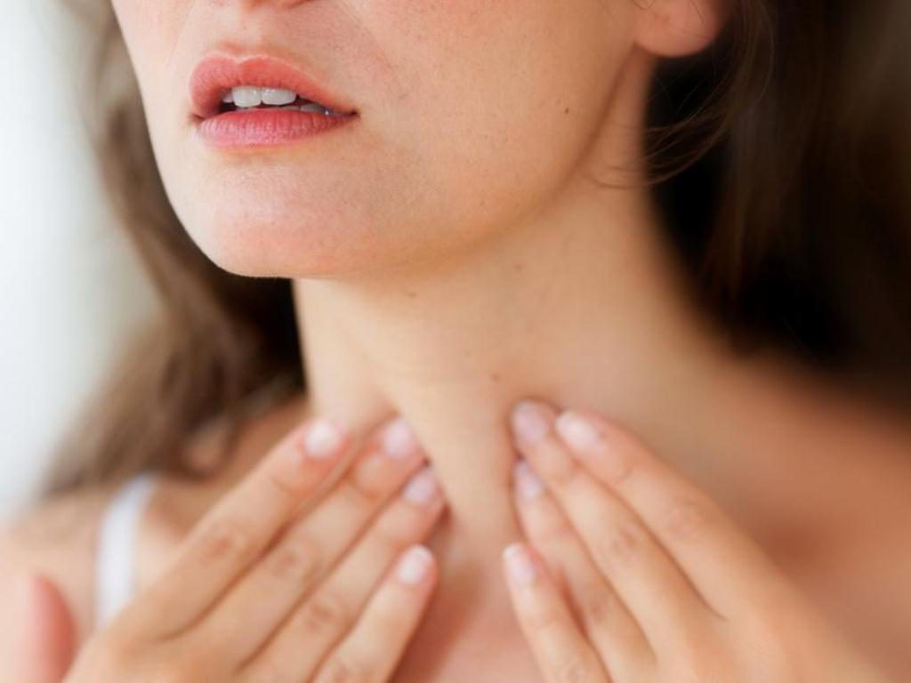 горло щитовидка