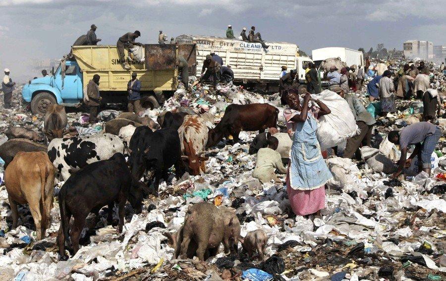 кения полиэтиленовый пакет