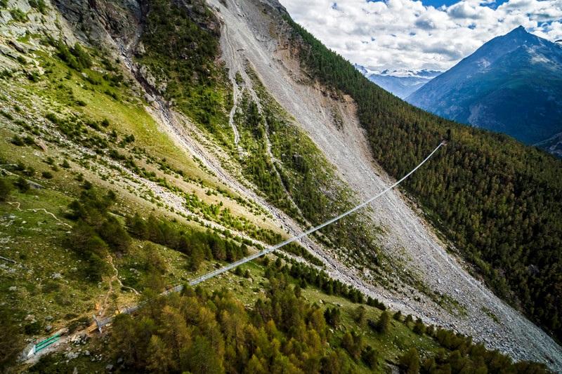 мост в горах _