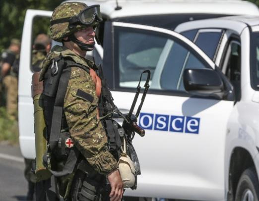 Наблюдатели ОБСЕ будут круглые сутки патрулировать Станицу Луганскую