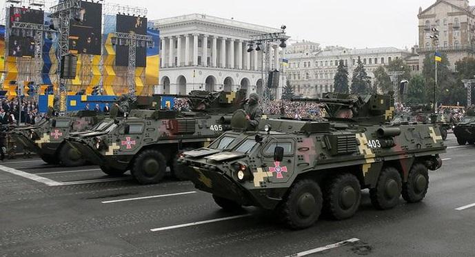 Вцентре столицы Украины из-за парада ограничат движение транспорта
