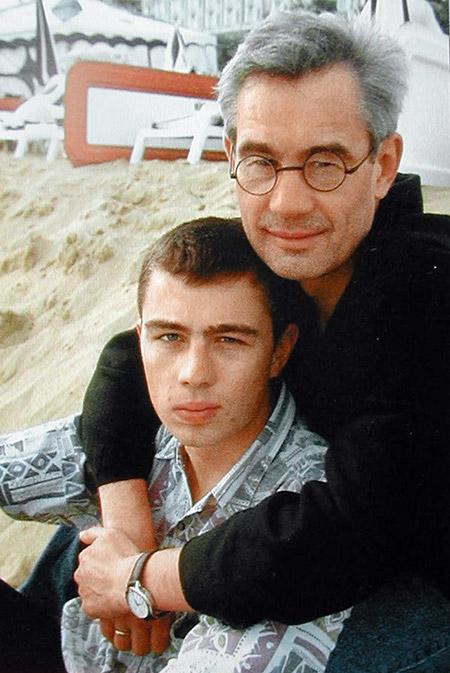 Бодров с отцом