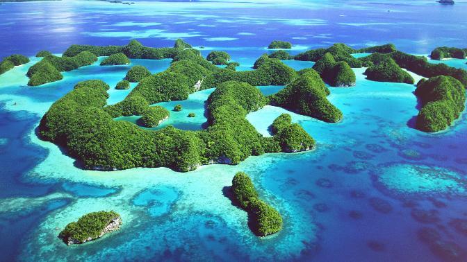 Остров Океания.