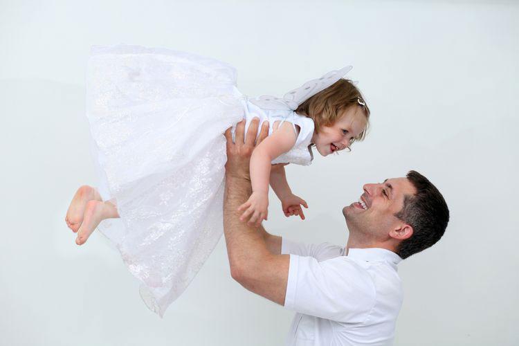 дочь с папой
