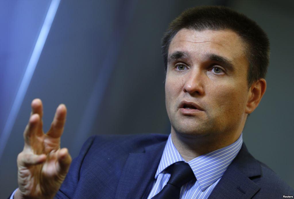Глава МИД Украины обвинил Россию в прекращении поставок воды в Крым