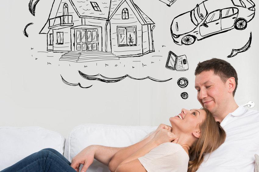 мечты о квартире и машине
