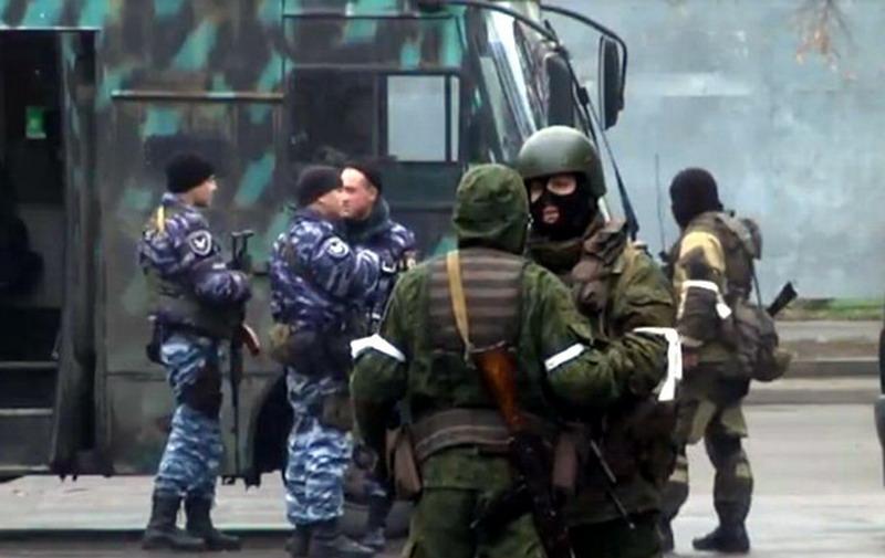 луганск-захват