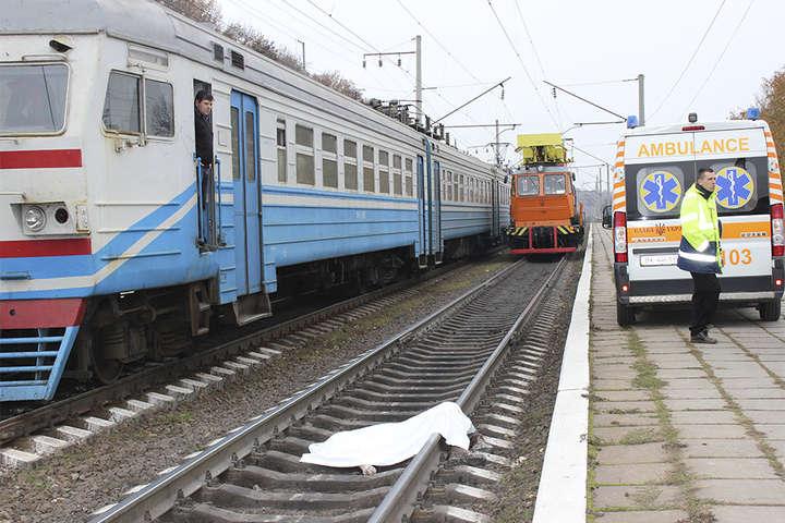 поезд жертва