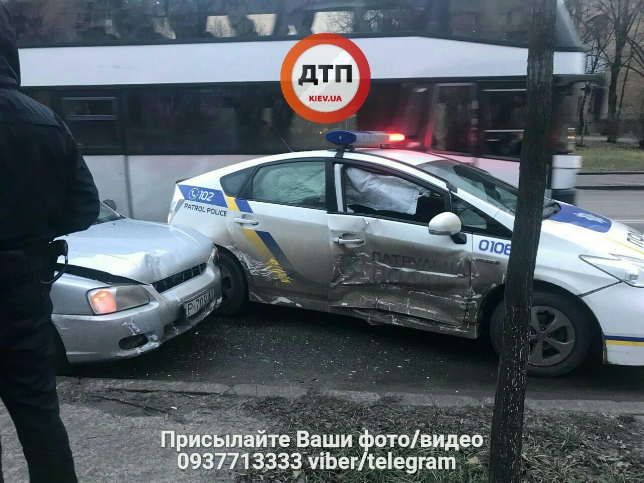 Авария полиция Киев