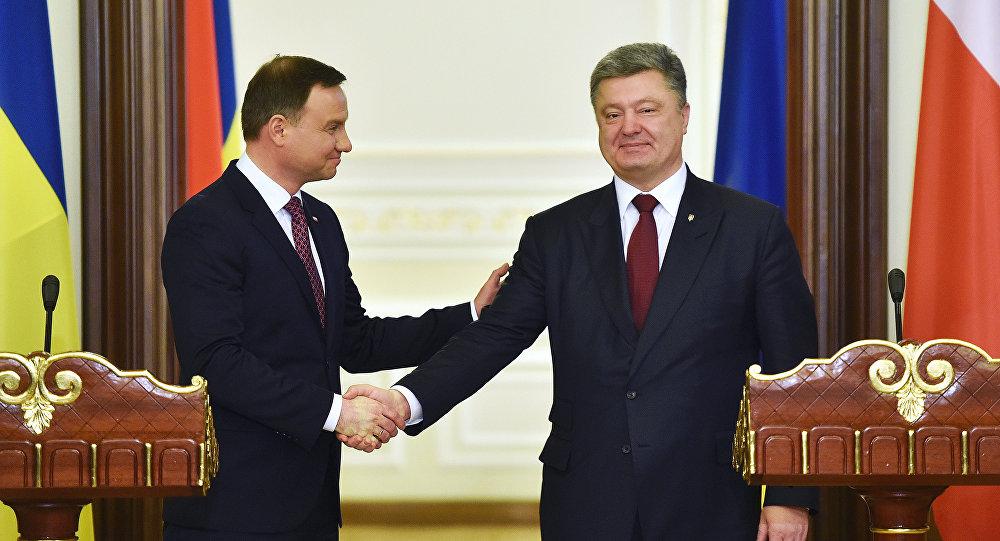 Дуда и Порошенко