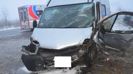 Словакия авария