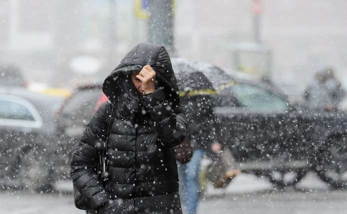Снег и ветер