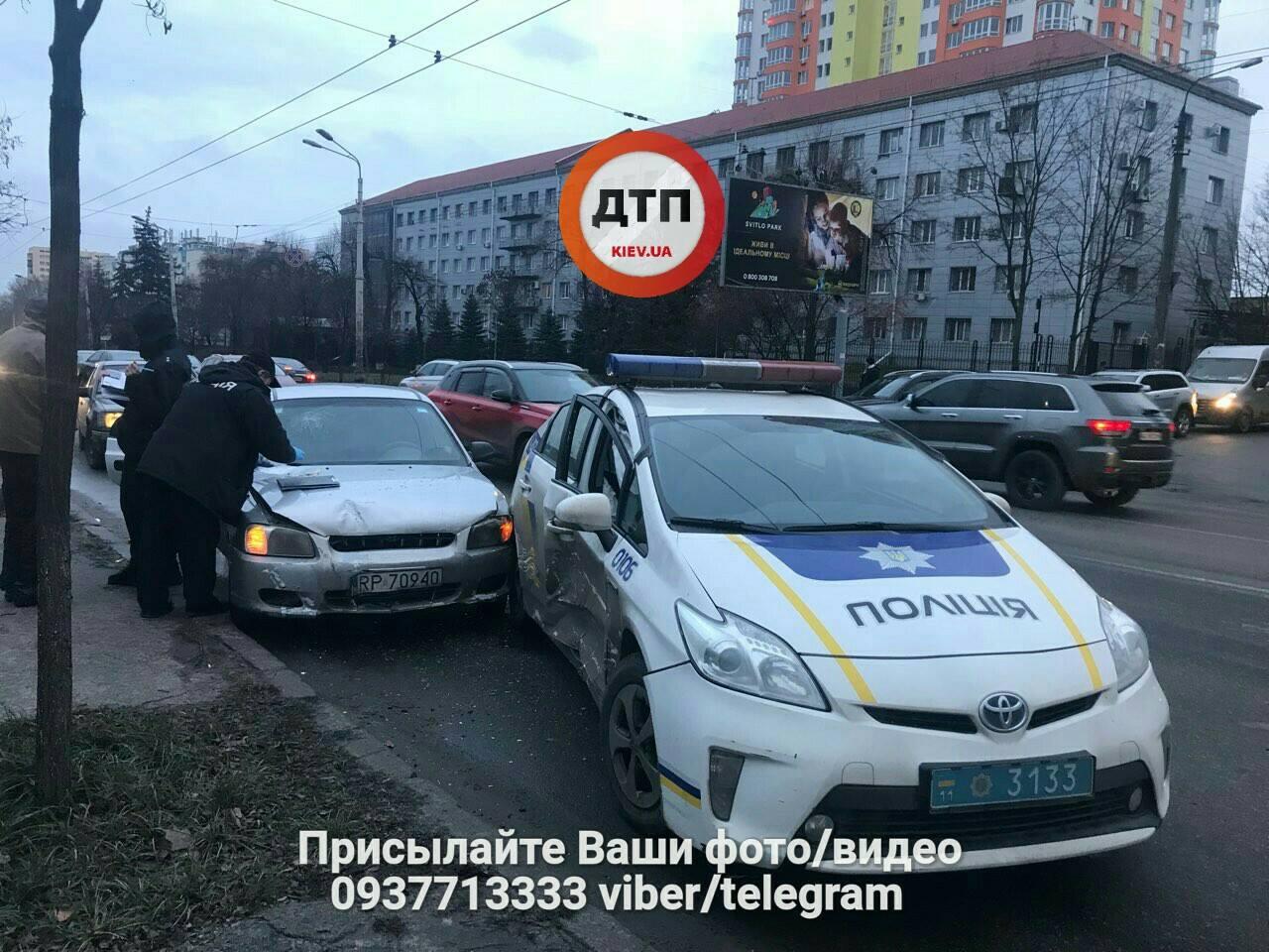 авария полиция Киев1