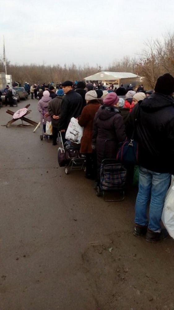 блокпост луганск