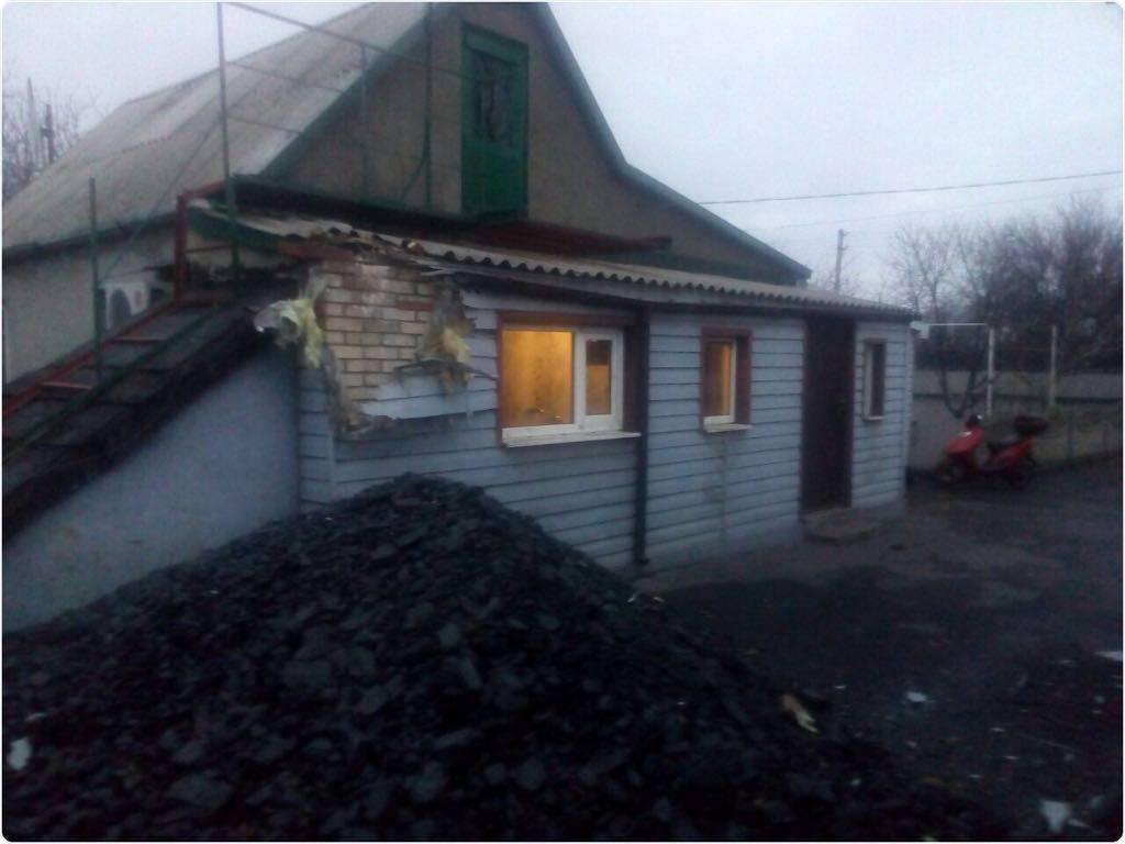 Жебривский: ВМарьинке боевики продолжают обстреливать украинские позиции
