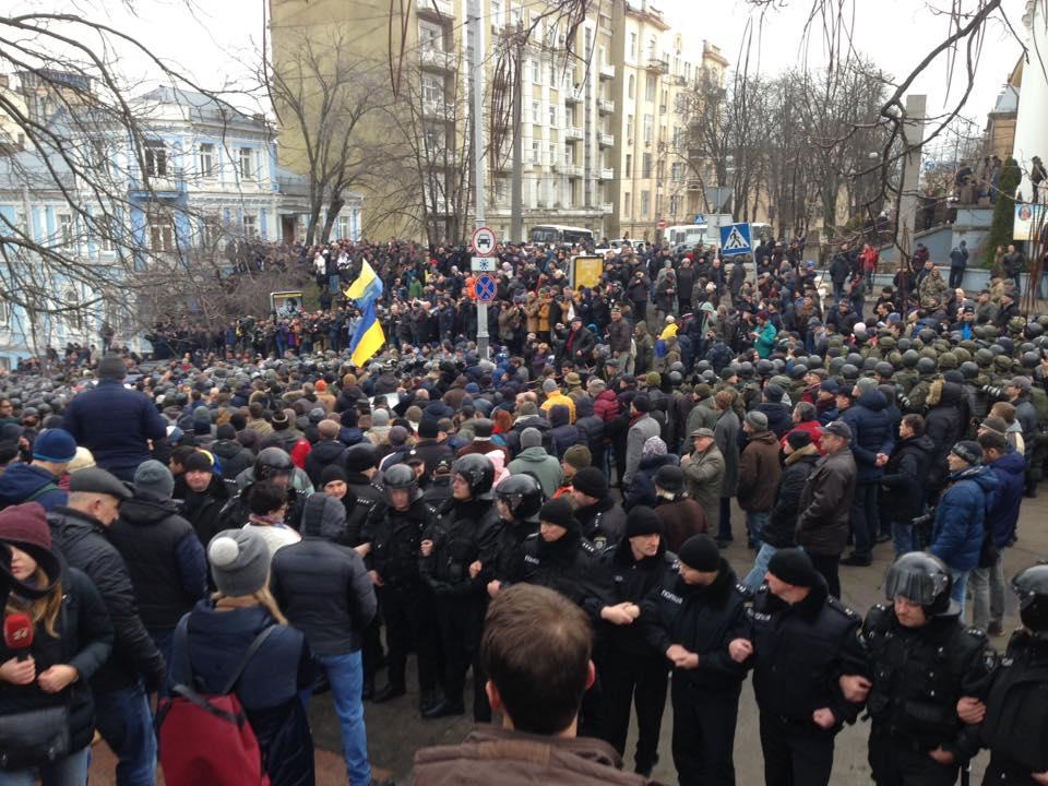 саакашвили протест