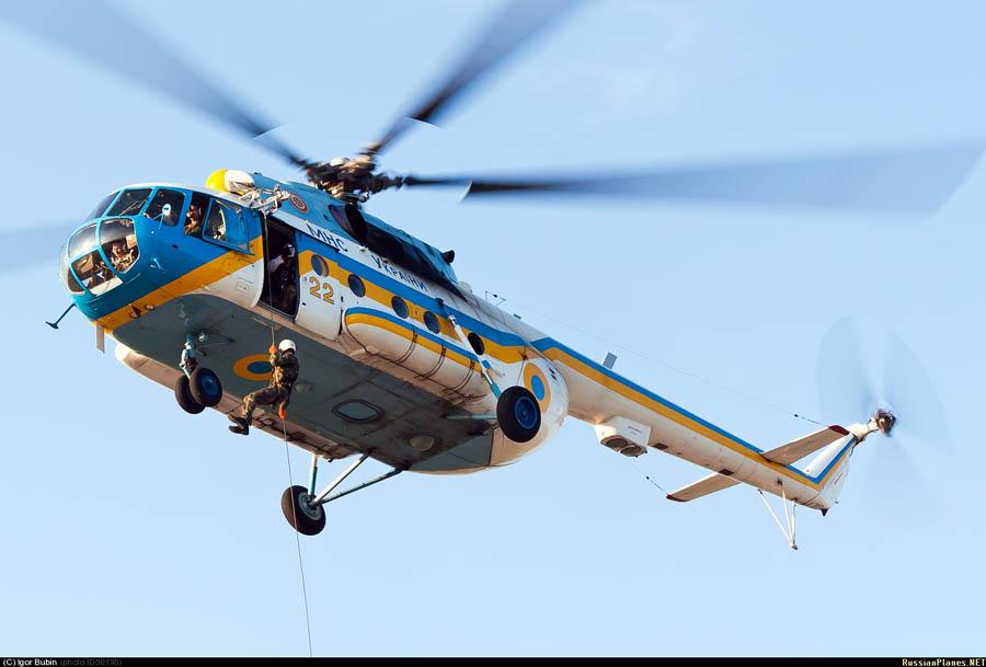 вертолеты ГСЧС