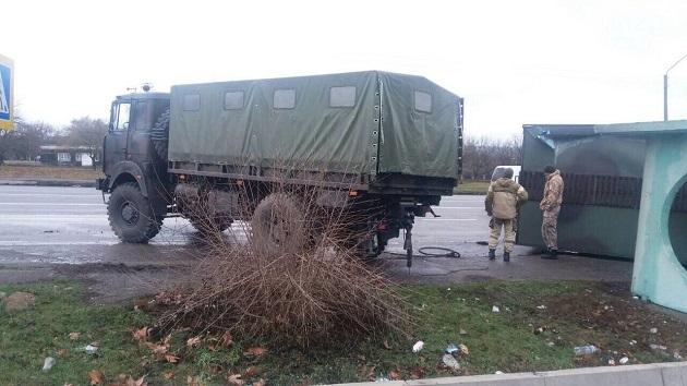 военные авария 1