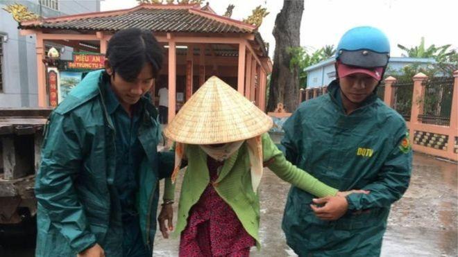 ВоВьетнаме из-за тайфуна эвакуировано неменее 650 тыс. человек