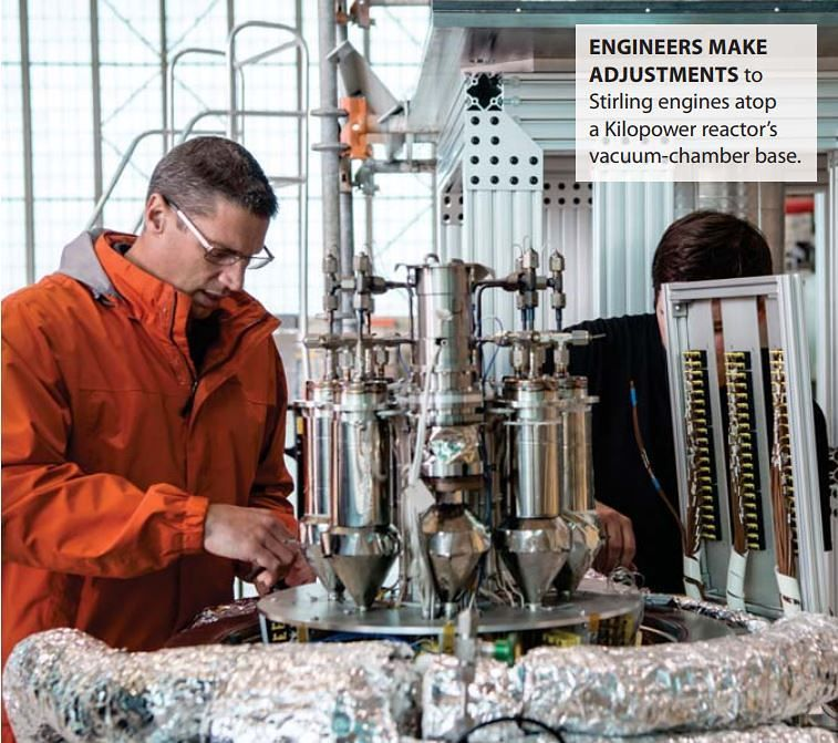 Реактор для жизни наМарсе благополучно испытали вСША