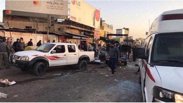 Терракт багдад
