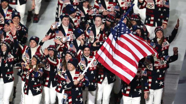 команда США