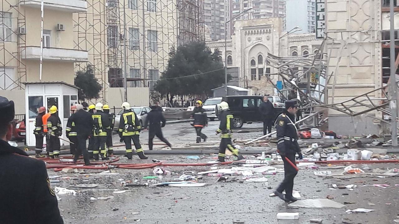 утечка газа в Баку