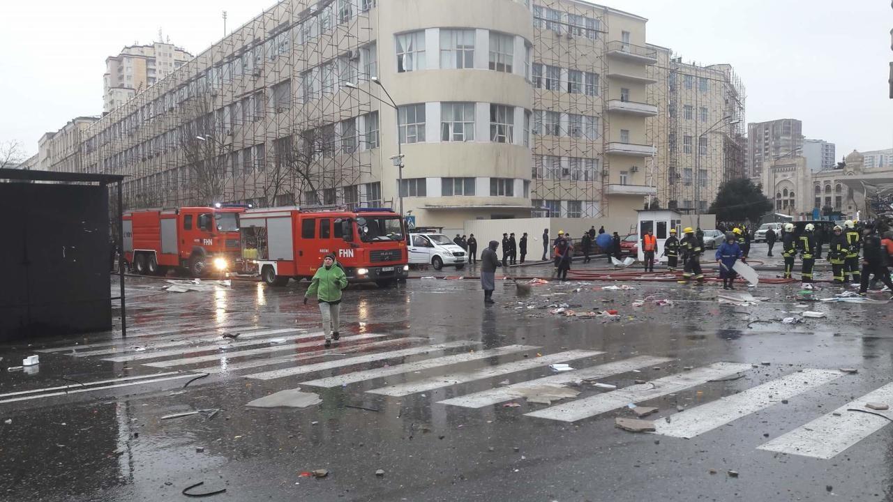 взрыв газа в Баку