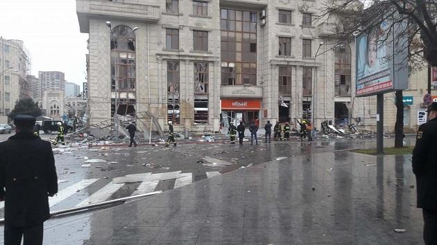 взрыв в Баку