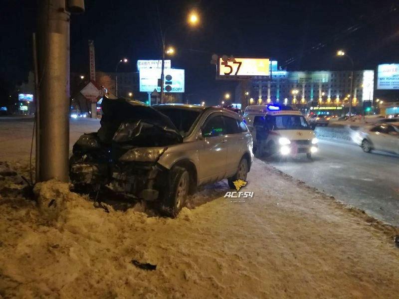 авария новосибирск