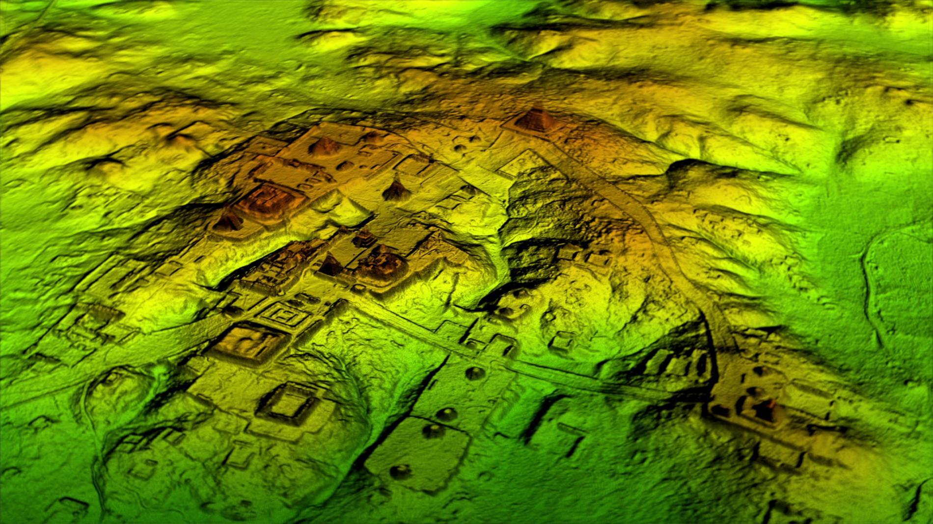 поселение майя