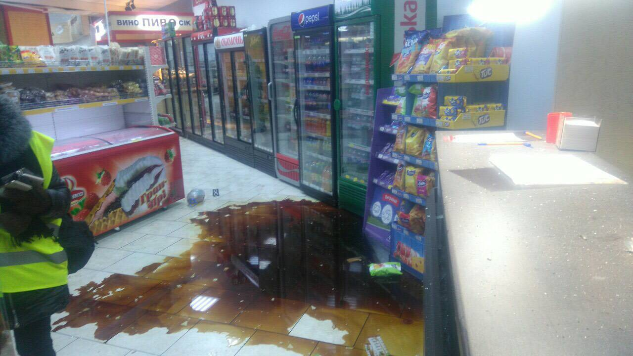 взрыв в супермаркете