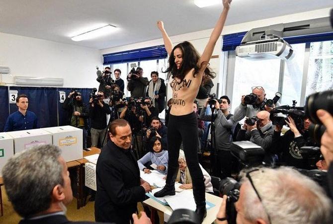 Правоцентристская коалиция выигрывает напарламентских выборах вИталии